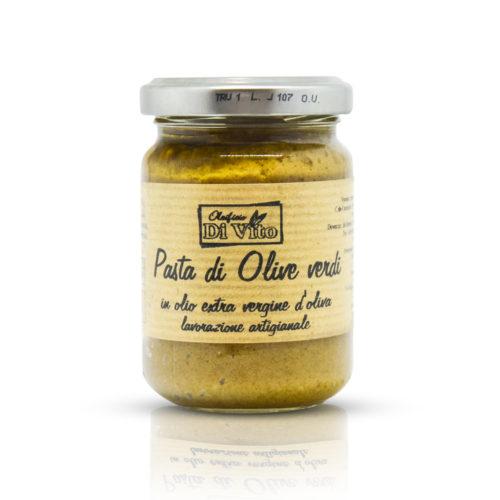 Pasta ze zelených oliv